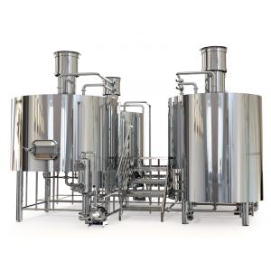 Пивоварня 2000 литров (3-х посудная)