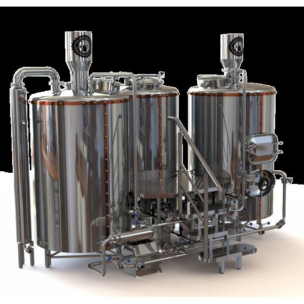 Мини-пивоварни на 200, 300, 500 литров