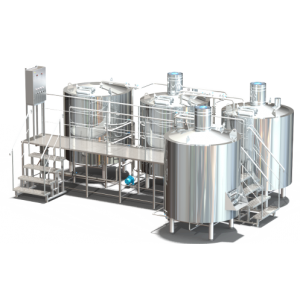 Пивоварня 2000 литров (4-х посудная)